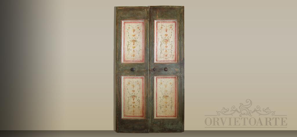 Porte Dipinte A Mano. Amazing Credenza In Olmo Con Porte Dipinte Mod ...