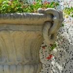 Particolare vaso antico
