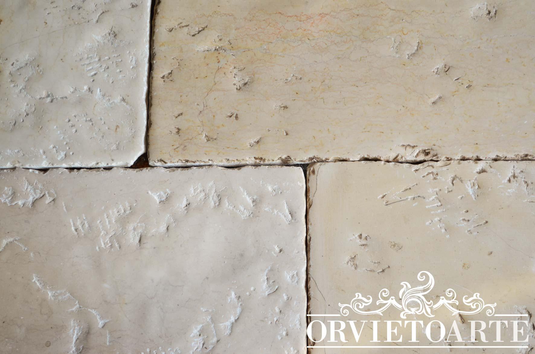 Pavimento In Pietra Di Trani : Orvieto arte u pavimento in pietra di trani di antica fattura
