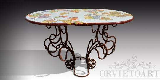Tavoli orvieto arte part 2 for Tavolo rotondo mosaico