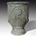 Vaso in terracotta smaltata