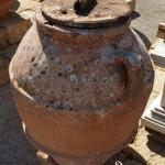 Orcio antico in terracotta