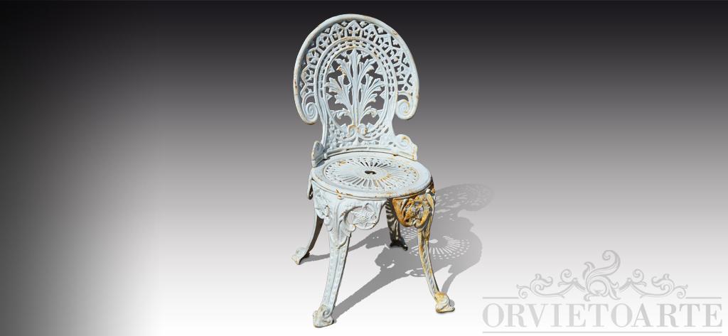 Sedie In Ghisa Da Giardino Prezzi.Arredo Da Giardino Orvieto Arte Part 2