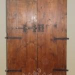 Retro porta antica del '600