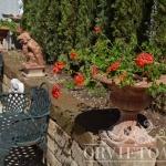 Vaso in terracotta, Arredo giardino, Orvieto, Umbria, Italia