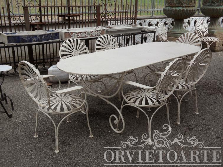 Sedie Francesi Da Giardino : Sedie da giardino tomassini arredamenti mobili di design