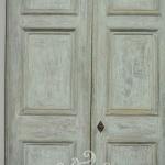 Porta shabby, Orvieto, Umbria, Italia
