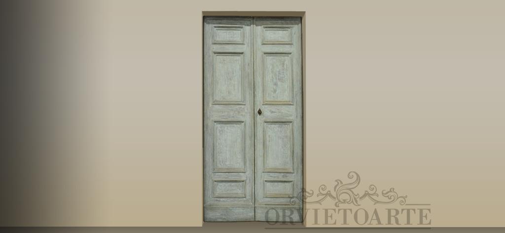 Porte antiche e in stile orvieto arte - Porte shabby chic ...