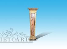 colonna in legno