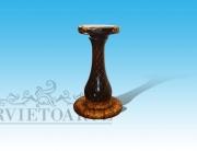 Base colonna legno