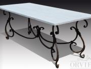 Tavolo travertino bianco