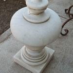 Finale colonna in marmo