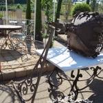 Staffa in ferro battuto