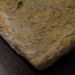 Particolare tegola romana antica