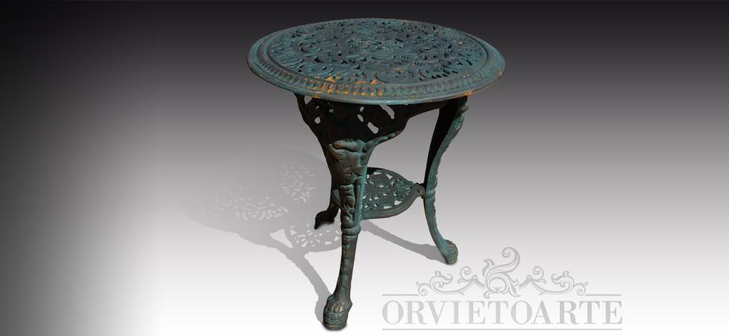 Tavoli In Ghisa Da Giardino.Tavoli Orvieto Arte Part 2