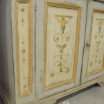 Credenza dipinta, Orvieto, Umbria, Italia