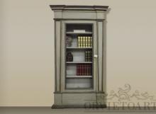 Libreria da muro provenzale, Orvieto, Umbria, Italia