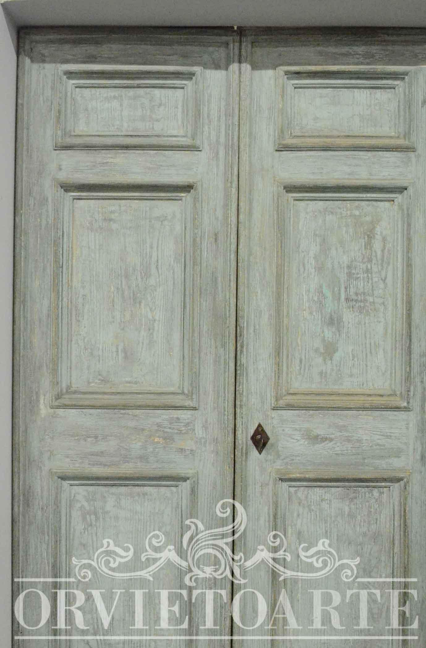 Porte Interne Shabby Chic orvieto arte – porta in stile shabby chic