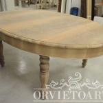 Tavolo legno grezzo shabby