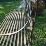 Panchina in ferro