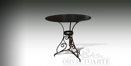 Basi In Ferro Per Tavoli Da Giardino.Tavoli Orvieto Arte