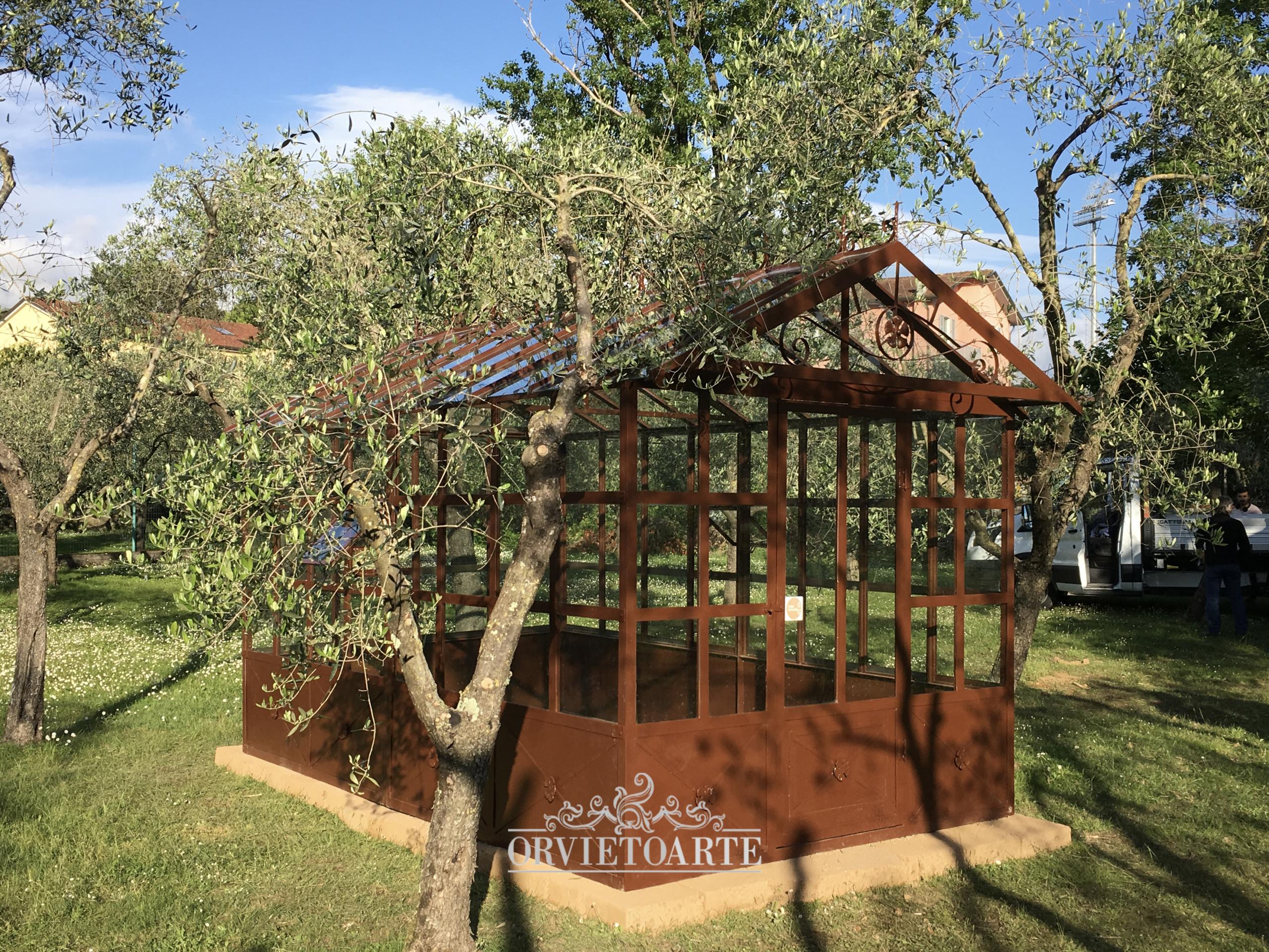 serra dehor orangerie limonaia giardino d'inverno